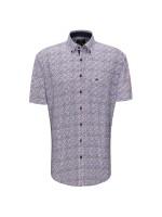 S/S Fond Dot Print Shirt