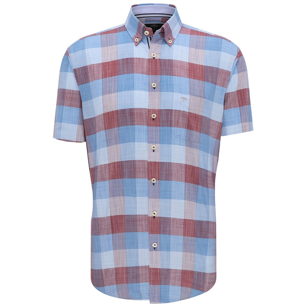 S/S Structure Check Shirt main image