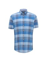 S/S Structure Check Shirt