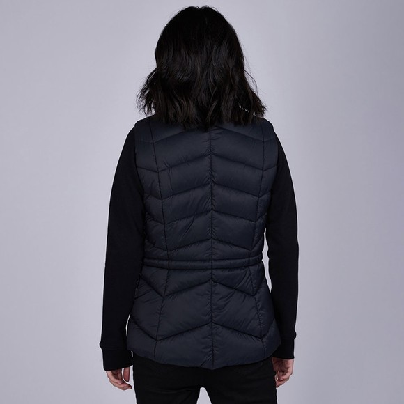 Barbour International Womens Black Halfback Gilet main image