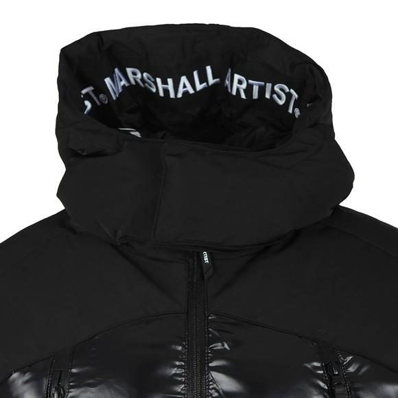 Marshall Artist Mens Black Kita Bubble Jacket
