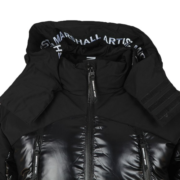 Marshall Artist Mens Black Kita Bubble Jacket main image