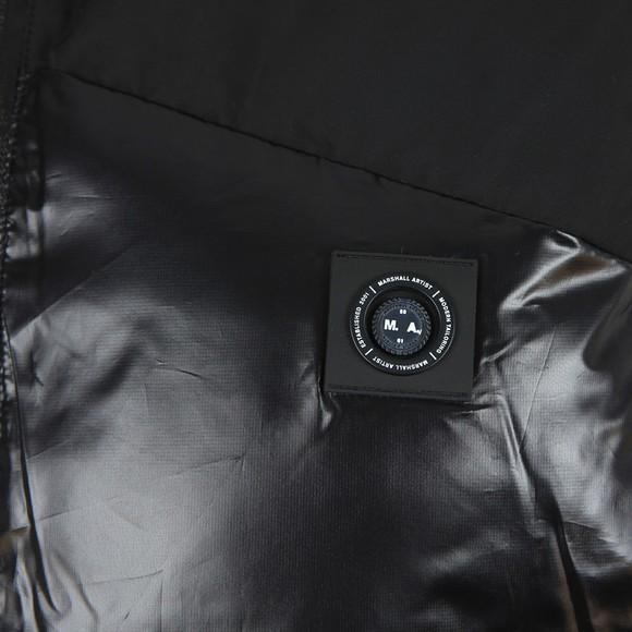 Marshall Artist Mens Black Kita Bubble Vest main image
