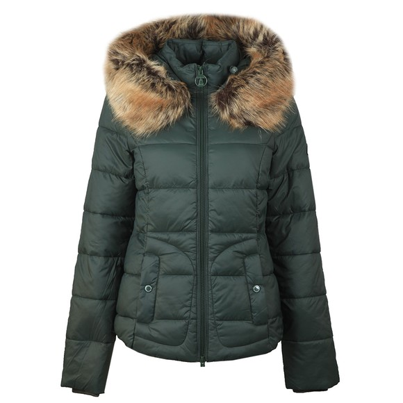 Barbour Lifestyle Womens Green Dover Quilt