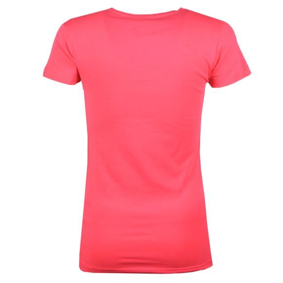 Emporio Armani Womens Pink Logo T-Shirt main image