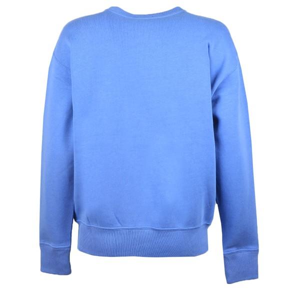 Polo Ralph Lauren Womens Blue Crew Neck Sweatshirt main image
