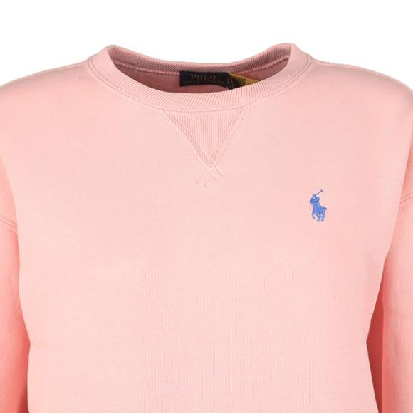 Polo Ralph Lauren Womens Pink Crew Neck Sweatshirt