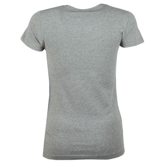 Emporio Armani Womens Grey Logo T-Shirt main image