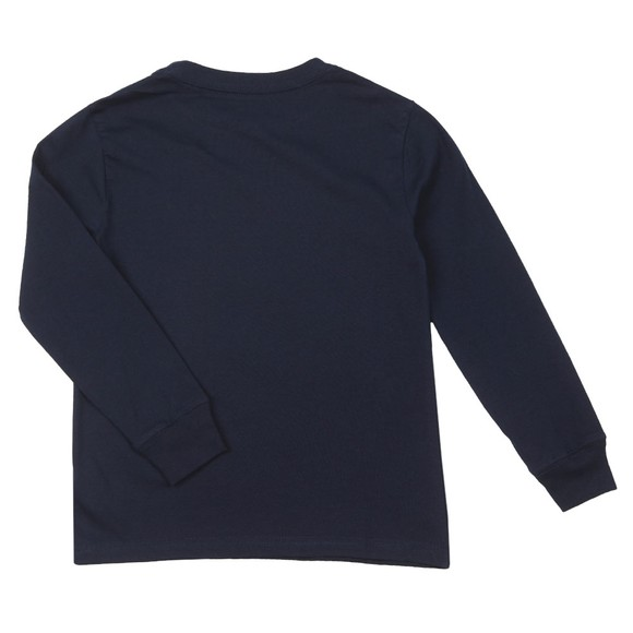 Polo Ralph Lauren Boys Blue Boys Long Sleeve Basic T-Shirt
