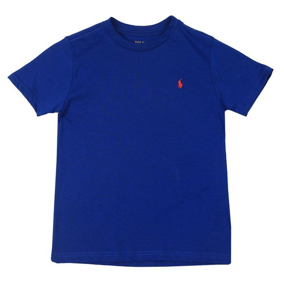 Polo Ralph Lauren Boys Cruise Royal Crew Neck T-Shirt