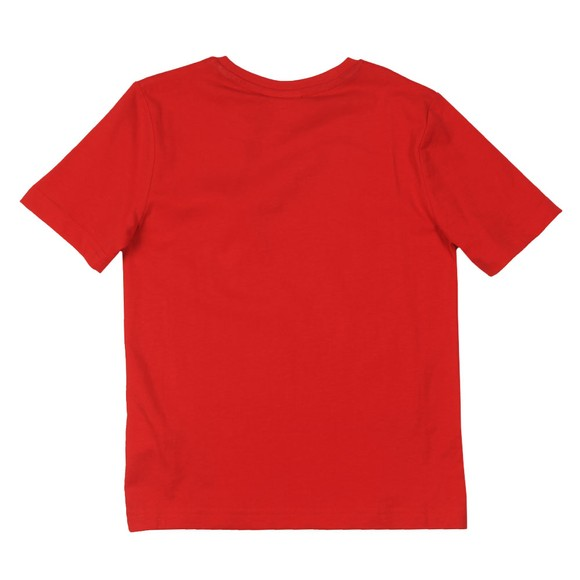 BOSS Boys Red J25G24 Logo T Shirt main image