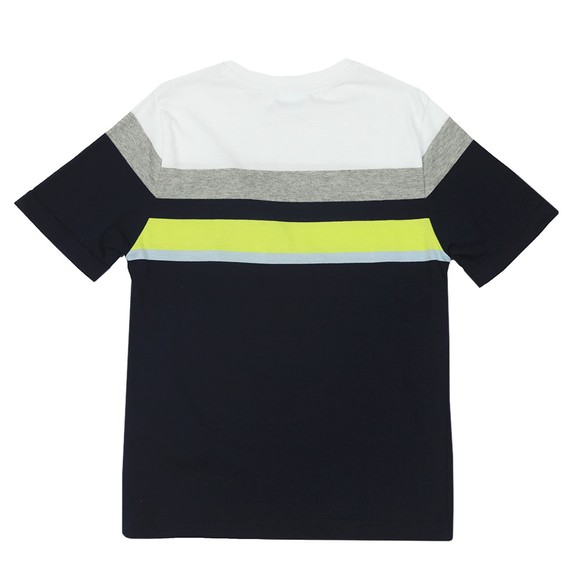 BOSS Baby Boys Blue J25G28 Stripe T-Shirt