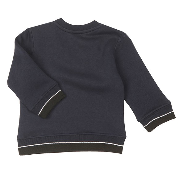 BOSS Baby Boys Blue J05814 Centre Logo Sweatshirt