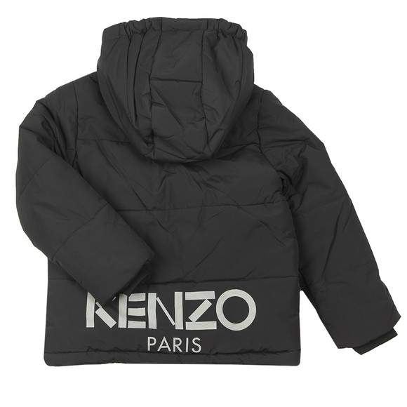 Kenzo Kids Boys Black Down Jacket