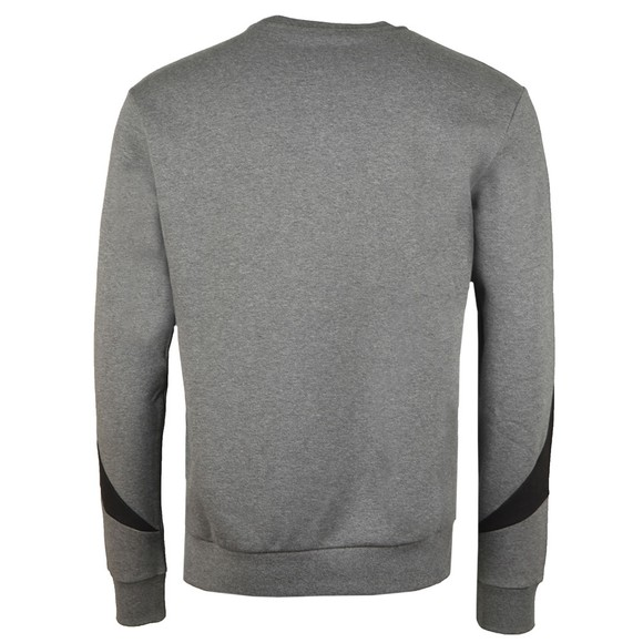 EA7 Emporio Armani Mens Grey Block Sweatshirt main image