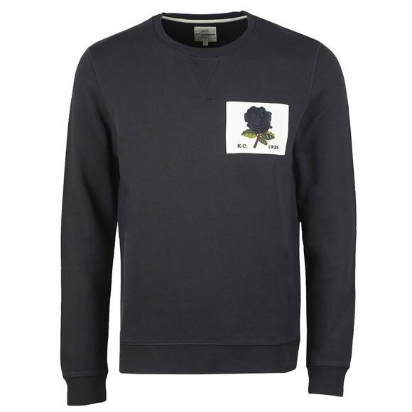 Kent & Curwen Mens Blue 1926 Sweatshirt