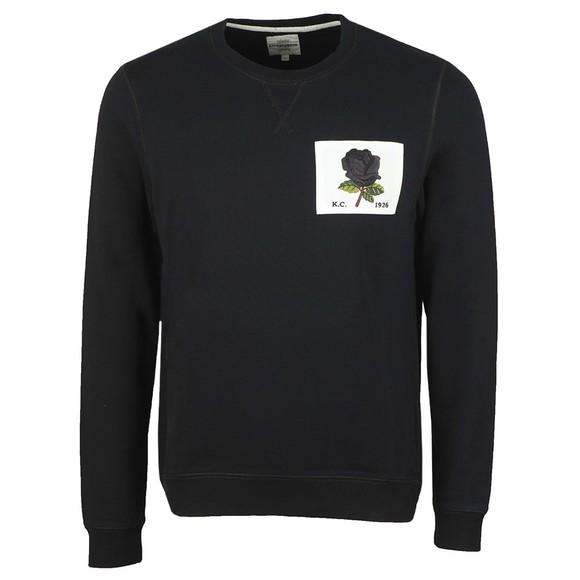 Kent & Curwen Mens Black 1926 Sweatshirt