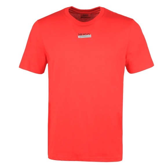 HUGO Mens Red Durned U204 T Shirt
