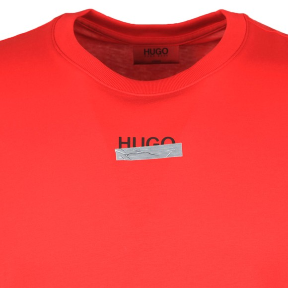 HUGO Mens Red Durned U204 T Shirt