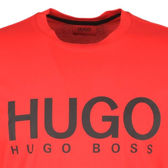 HUGO Mens Red Dolive 204 T Shirt
