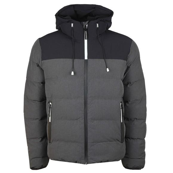 EA7 Emporio Armani Mens Grey Puffer Jacket