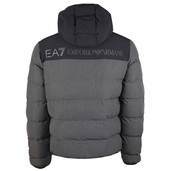 EA7 Emporio Armani Mens Grey Puffer Jacket main image