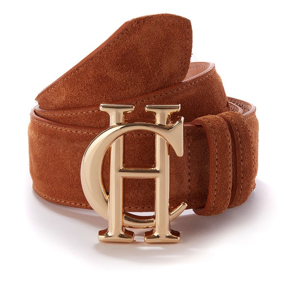 Holland Cooper Womens Brown HC Classic Suede Belt