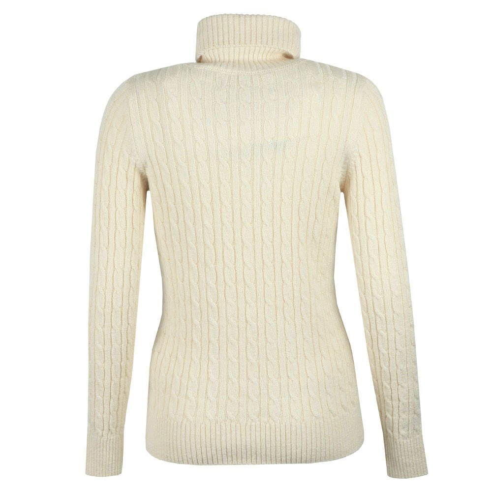 Croyde Cable Roll Neck Jumper main image