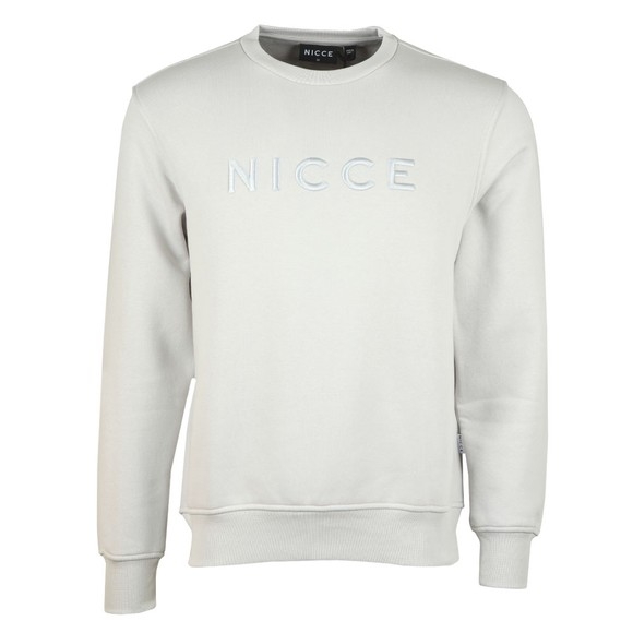 Nicce Mens Grey Mercury Sweatshirt