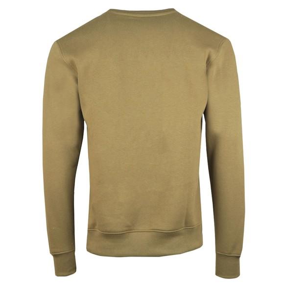 Nicce Mens Green Mini Centre Logo Sweatshirt main image