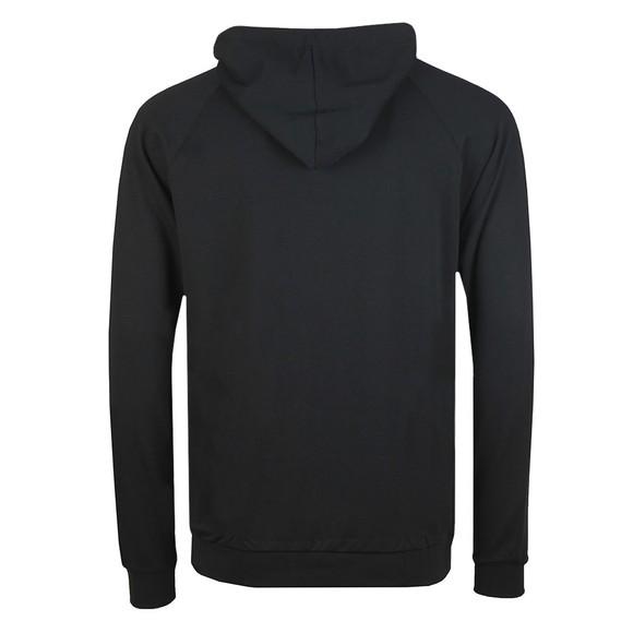 BOSS Bodywear Mens Black Stripe Detail Full Zip Hoody main image