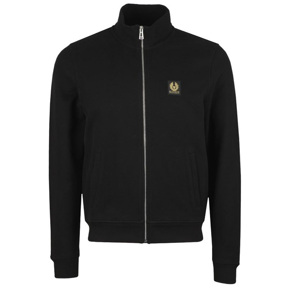 Belstaff Mens Black Zip Through Sweatshirt