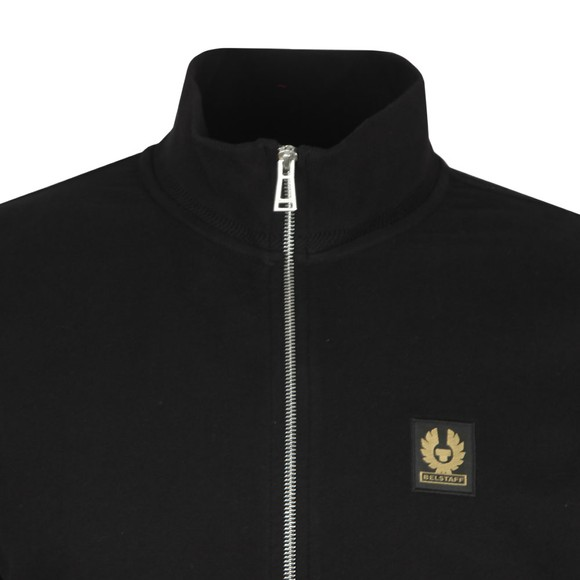 Belstaff Mens Black Zip Through Sweatshirt main image