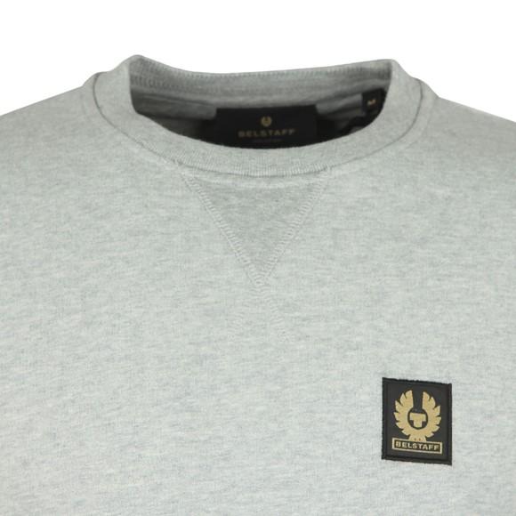 Belstaff Mens Grey Chest Logo Sweatshirt main image