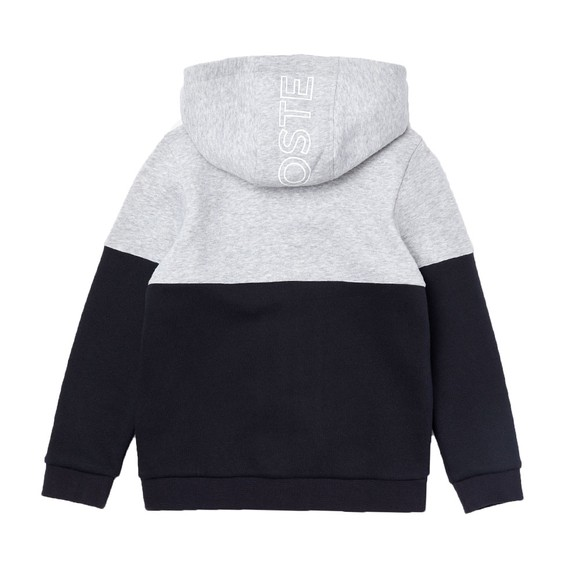 Lacoste Boys Grey SJ1161 Zip Hoody