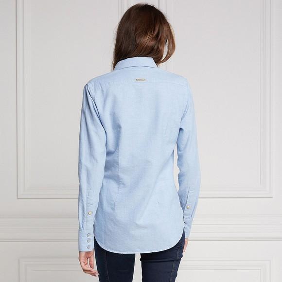Holland Cooper Womens Blue Classic Oxford Shirt