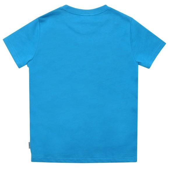 Paul Smith Junior Boys Blue Bertin Logo T Shirt main image