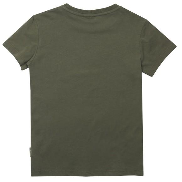 Napapijri Boys Green K Saloy T-Shirt main image
