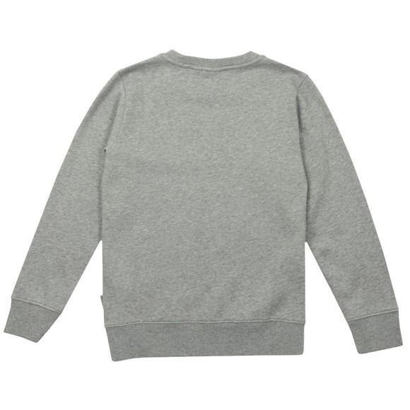 Napapijri Boys Grey Baloy Crew Sweatshirt main image