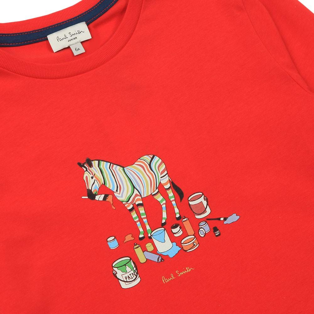 Betino Zebra Paint T-Shirt main image