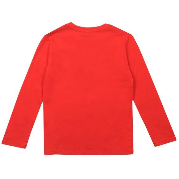 Paul Smith Junior Boys Red Betino Zebra Paint T-Shirt main image