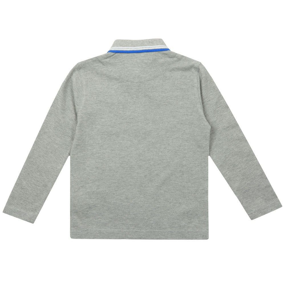 Twin Tipped Long Sleeve Polo Shirt main image