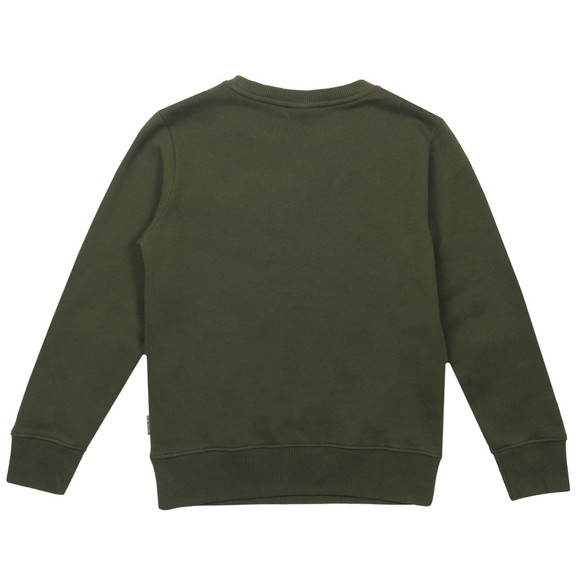 Napapijri Boys Green Baloy Crew Sweatshirt main image