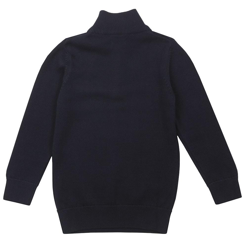 Boys Casual Cotton Half Zip Jumper main image