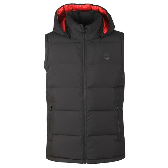 Moose Knuckles Mens Black Kilcona Gilet