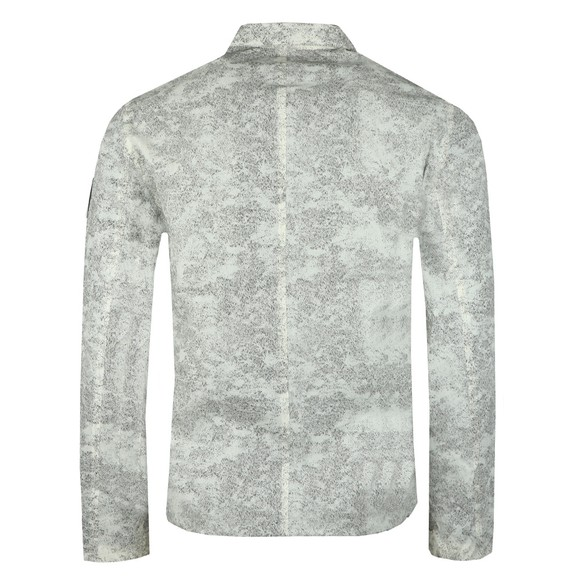 Marshall Artist Mens White Matte Diffusion Overshirt main image