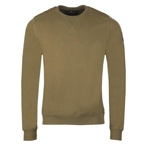 Belstaff Mens Green Jarvis Sweatshirt