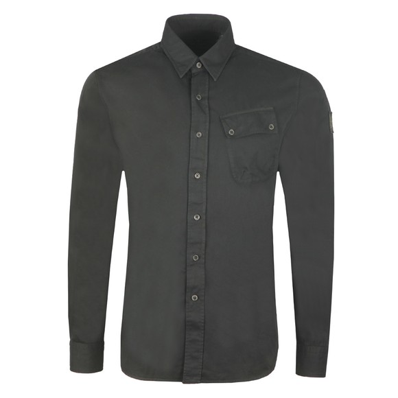 Belstaff Mens Black Pitch Shirt