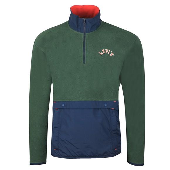 Levi's ® Mens Green Polar Fleece