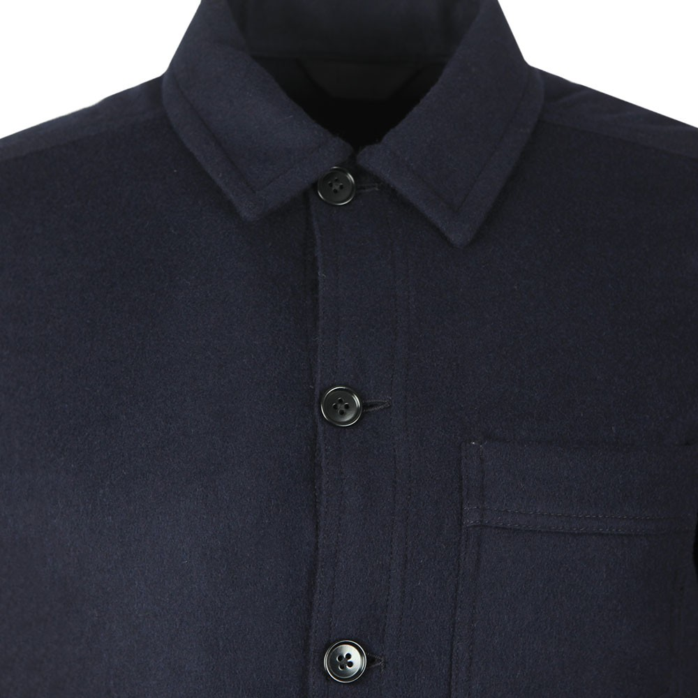 Flat Wool Overshirt main image